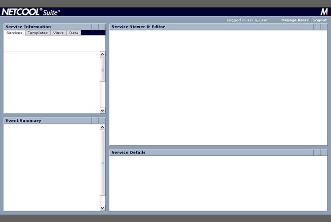 IBM (MicroMuse) - Dashboard UI Shell for Netcool Enterprise Suite